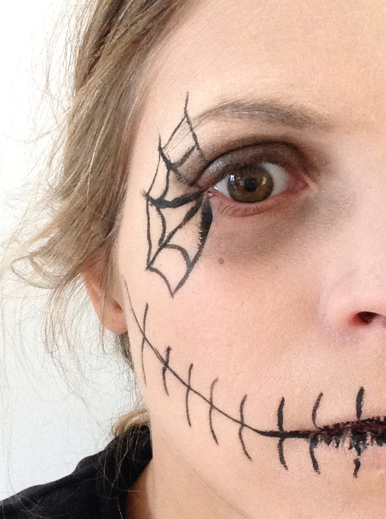 Maquillage Halloween Facile Archives Prettylittletruth Blog De Fille Lifestyle Mode Beaut